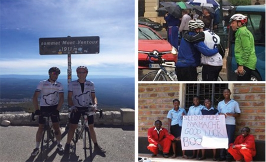 Boo Representatives Prepare for Latest Cycling Challenge
