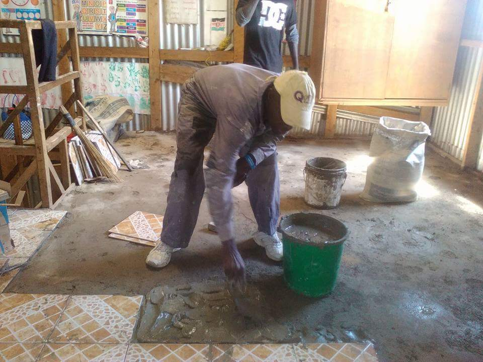 New floor for Kimmta ECD Centre2