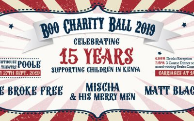 Boo Charity Ball – Roll up, Roll up!