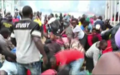 'Chaos' in Kenyan slum as Covid-19 takes toll – CNN Footage